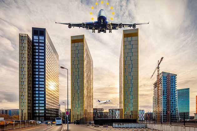 Expulsión de extranjeros usando aviones
